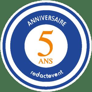 Illustration de l'Anniversaire des 5 ans de Rédactevent