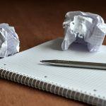 Illustration Ecrire sans faute...