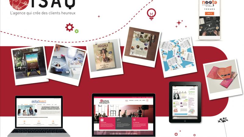 Isaq, agence de communication print et web